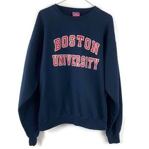 Champion Vintage Boston University Sweatshirt